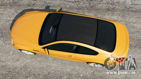 GTA 5 BMW M6 2013 Rückansicht