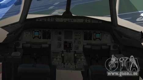 Airbus A320-200 TAM Airlines Oneworld für GTA San Andreas rechten Ansicht