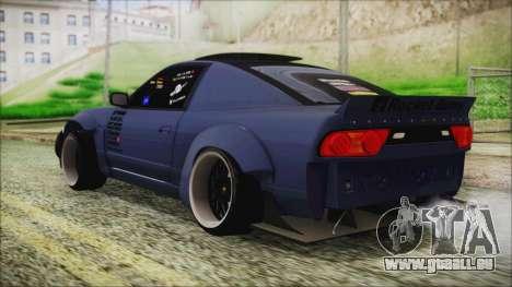 Nissan 180SX Rocket Bunny Edition pour GTA San Andreas laissé vue