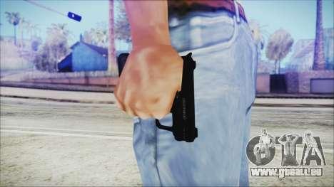 GTA 5 SNS Pistol v3 - Misterix Weapons pour GTA San Andreas troisième écran