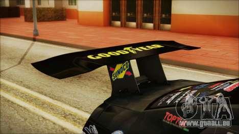 Nissan GT-R R35 Naoto für GTA San Andreas Rückansicht