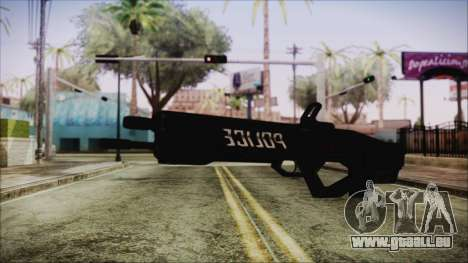 Cyberpunk 2077 Rifle Police für GTA San Andreas