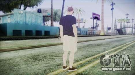 GTA Online Skin 4 pour GTA San Andreas troisième écran