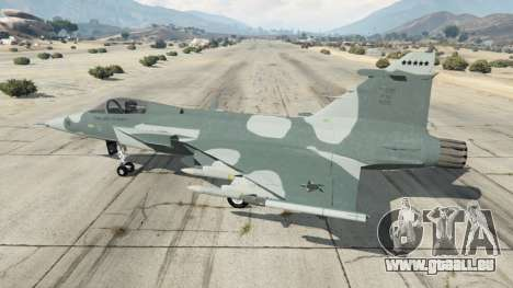 GTA 5 Saab JAS 39 Gripen NG FAB [Beta] zweite Screenshot