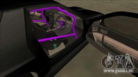 Mazda RX-7 FC Drift pour GTA San Andreas vue de côté
