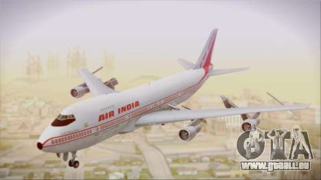 Boeing 747-237Bs Air India Samudragupta für GTA San Andreas