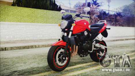 Suzuki Bandit 1250N pour GTA San Andreas