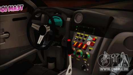 Nissan GT-R R35 Naoto pour GTA San Andreas vue de droite