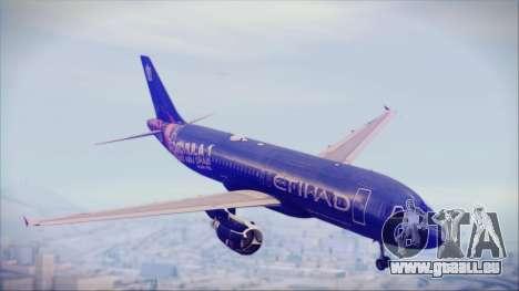 Airbus A320-200 Etihad Airways Abu Dhabi Grand pour GTA San Andreas