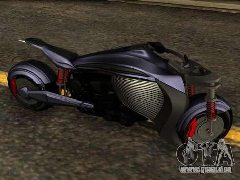 Krol Taurus concept HD ADOM v2.0 pour GTA San Andreas laissé vue