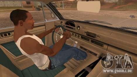 GTA 5 Declasse Clean Voodoo IVF pour GTA San Andreas vue de droite