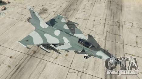 GTA 5 Saab JAS 39 Gripen NG FAB [Beta] vierten Screenshot