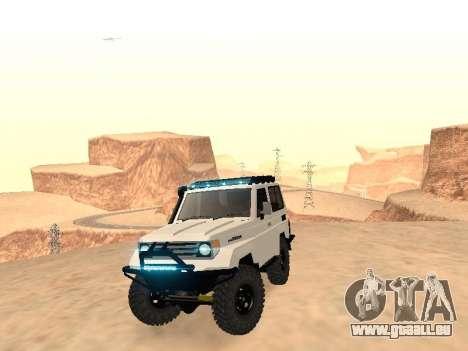 Toyota Machito Off-Road (IVF) 2009 für GTA San Andreas rechten Ansicht