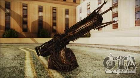 Fallout 4 Shredding Minigun pour GTA San Andreas