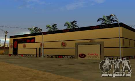 Monster Beats Studio by 7 Pack pour GTA San Andreas