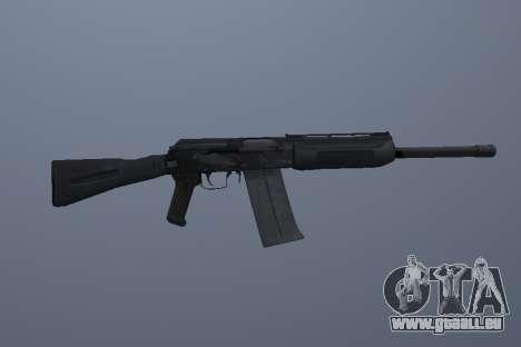Saïga-12 pour GTA San Andreas troisième écran