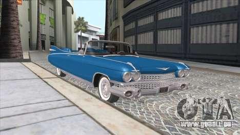 Cadillac Eldorado Biarritz 1959 pour GTA San Andreas