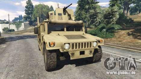 HMMWV M-1116 [desert] für GTA 5