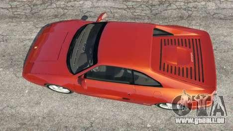 GTA 5 Ferrari F355 vue arrière