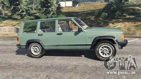 Jeep Cherokee XJ 1984 [Beta] für GTA 5