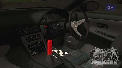 Nissan 180SX Rocket Bunny Edition pour GTA San Andreas vue de droite