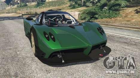 Pagani Zonda R v0.91 für GTA 5