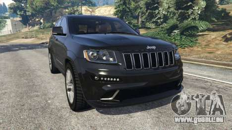 Jeep Grand Cherokee SRT8 2013 pour GTA 5