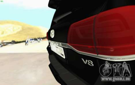 Toyota Land Cruiser 200 2016 pour GTA San Andreas vue de droite