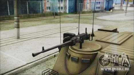 BTR-50 pour GTA San Andreas vue de droite