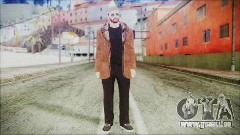 GTA Online Skin 30 pour GTA San Andreas deuxième écran