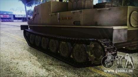 BTR-50 pour GTA San Andreas sur la vue arrière gauche