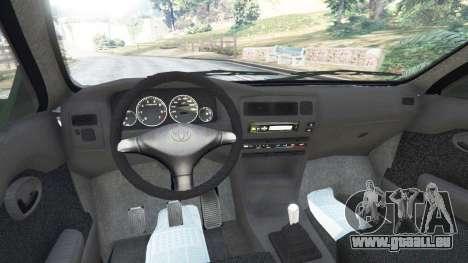 GTA 5 Toyota Corolla 1.6 XEI v1.02 arrière droit vue de côté