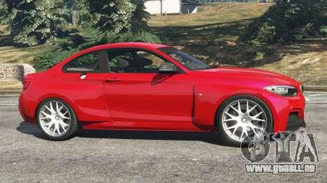GTA 5 BMW M235i (F22) 2014 linke Seitenansicht