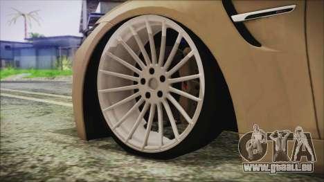 BMW M4 Coupe für GTA San Andreas zurück linke Ansicht