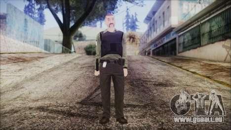 GTA 5 Ammu-Nation Seller 2 pour GTA San Andreas deuxième écran