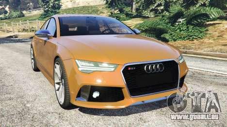 Audi RS7 2016 pour GTA 5