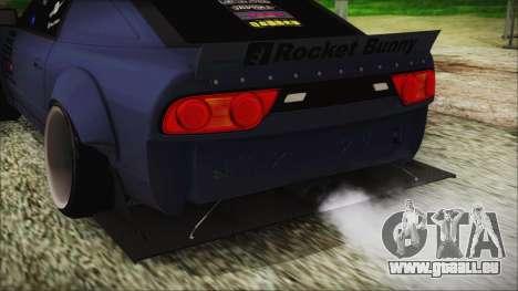 Nissan 180SX Rocket Bunny Edition pour GTA San Andreas vue arrière