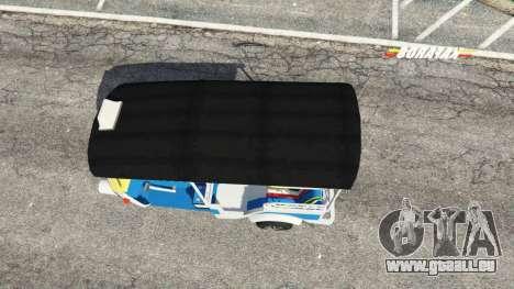 GTA 5 Tuk-Tuk vue arrière