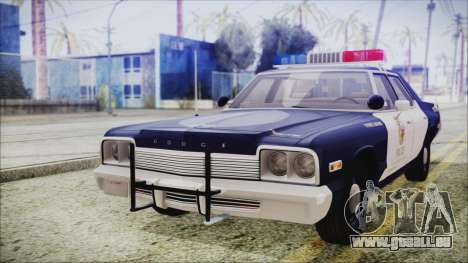 Dodge Monaco 1974 LSPD Highway Patrol Version pour GTA San Andreas