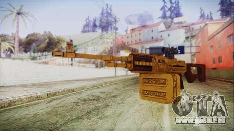 GTA 5 MG from Lowrider DLC für GTA San Andreas