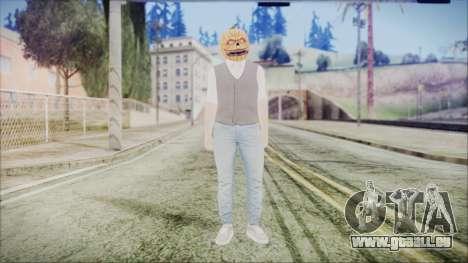 GTA Online Skin 33 pour GTA San Andreas deuxième écran
