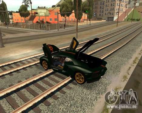 Car Accessories Script v1.1 für GTA San Andreas her Screenshot