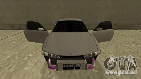 Nissan Silvia S14 Drift pour GTA San Andreas salon