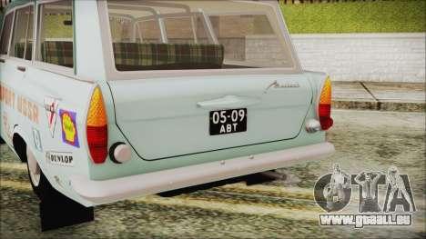 Moskvich 427 Rallye-v0.5 für GTA San Andreas Rückansicht