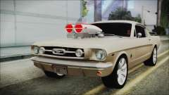 Ford Mustang Fastback 1966 Chrome Edition pour GTA San Andreas
