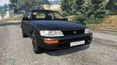 Toyota Corolla 1.6 XEI [black edition] v1.02