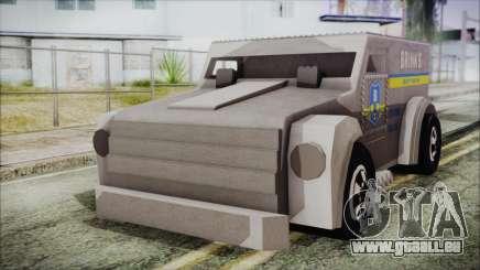 Hot Wheels Funny Money Truck für GTA San Andreas