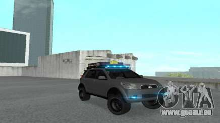 Toyota Terios 2009 OFF-ROAD-MUD-TERRAIN für GTA San Andreas