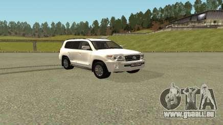 Toyota Land Cruiser 200 Bulkin Edition pour GTA San Andreas