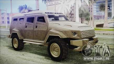 GTA 5 HVY Insurgent Van für GTA San Andreas
